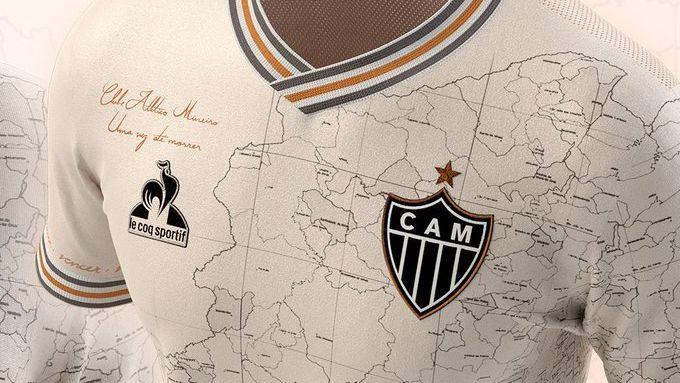 'Manto da Massa', novo uniforme do Atlético-MG
