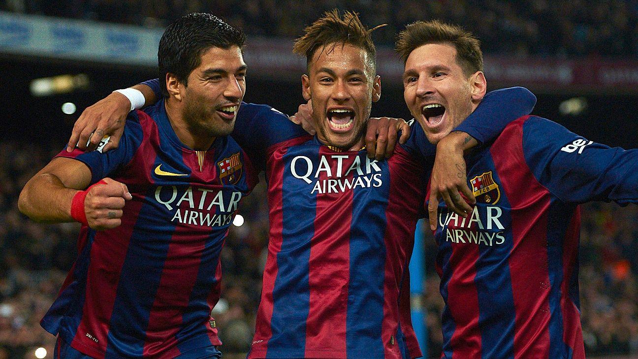 Barcelona, Messi-Suárez-Neymar
