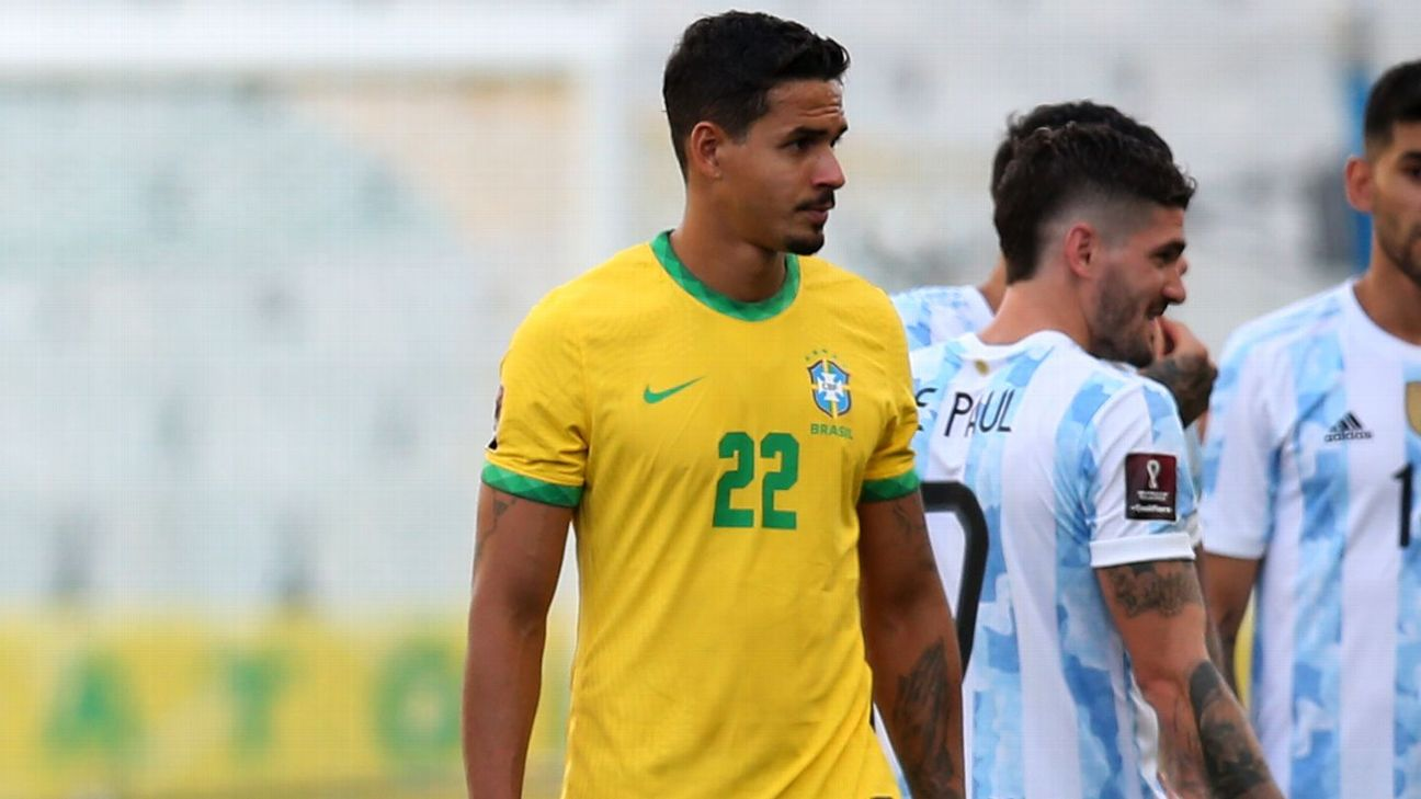 Lucas Veríssimo, zagueiro da seleção