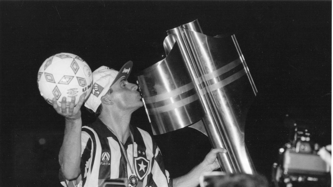 Túlio Maravilha, ídolo do Botafogo